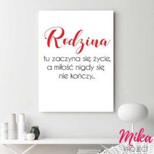plakaty obrazki z napisami mika project