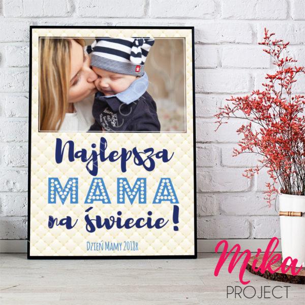 Najlepsza Mama na świecie ramka prezent na dzień mamy mika project do druku