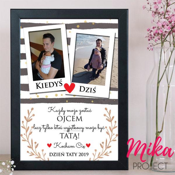 plakat dla taty ojca prezent mika project